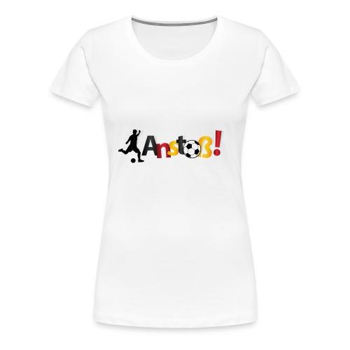 Anstoß - Frauen Premium T-Shirt