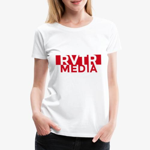 RVTR media red - Frauen Premium T-Shirt