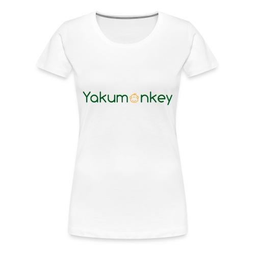 Yakumonkey T-shirt - Women's Premium T-Shirt