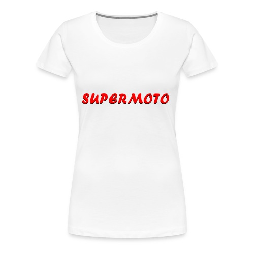 SupermotoLuvan - Premium-T-shirt dam