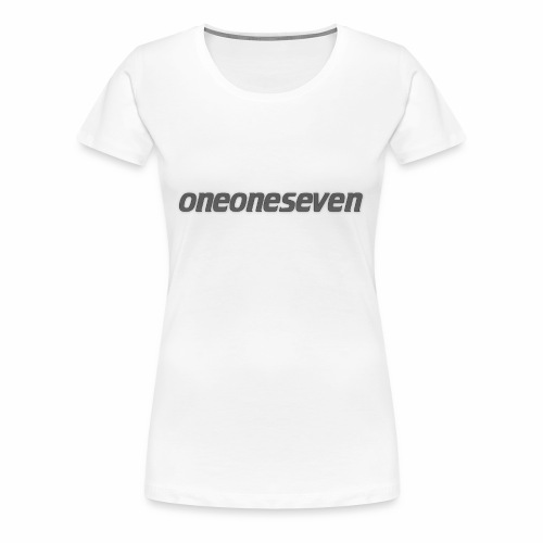 oneoneseven v1 - Frauen Premium T-Shirt