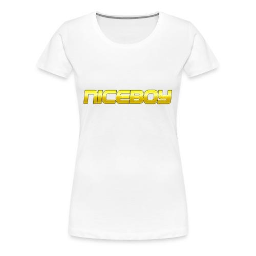 T-shirt Hodis Tassen mit Logo(Text) - Frauen Premium T-Shirt