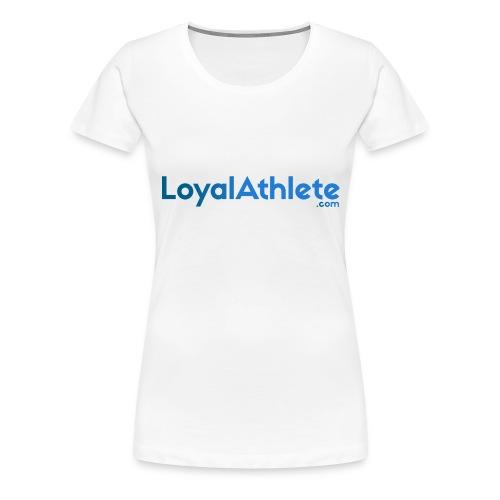 Loyal athlete banner - Women's Premium T-Shirt