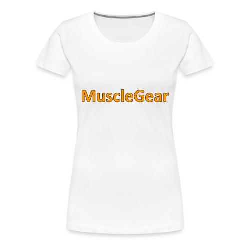 MuscleGear - Dame premium T-shirt