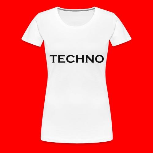 Parts of Life Techno Black - Frauen Premium T-Shirt