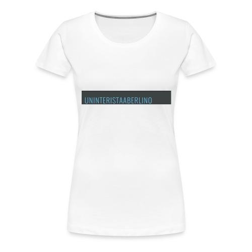 blogge-png - Maglietta Premium da donna