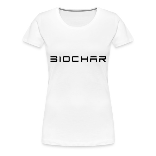 Biochar - Women's Premium T-Shirt