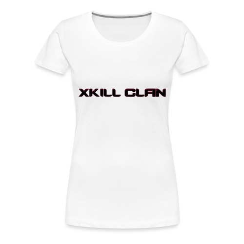 xkill header vektor - Frauen Premium T-Shirt