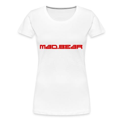 CAMISETA MAD.BEAR LOGO - Camiseta premium mujer
