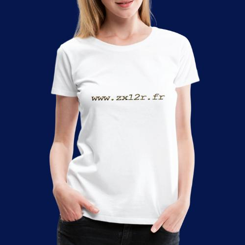 www zx12r fr OR - T-shirt Premium Femme