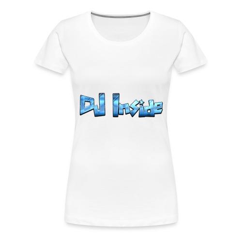 Cool Text DJ Inside 275586748159816 - Frauen Premium T-Shirt