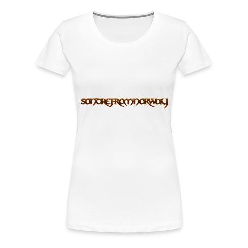 SondreFromNorway - Premium T-skjorte for kvinner