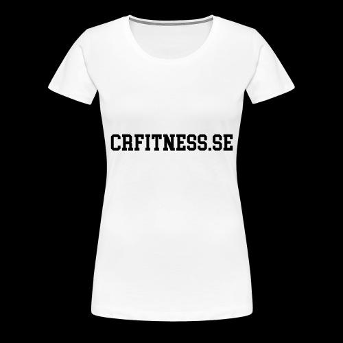 CRfitness Web - Premium-T-shirt dam