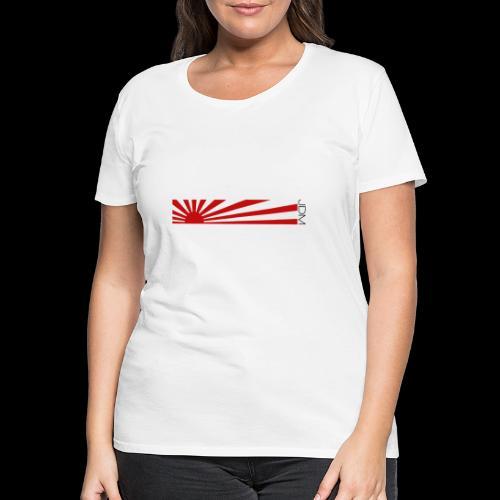 JDM flag design - Women's Premium T-Shirt
