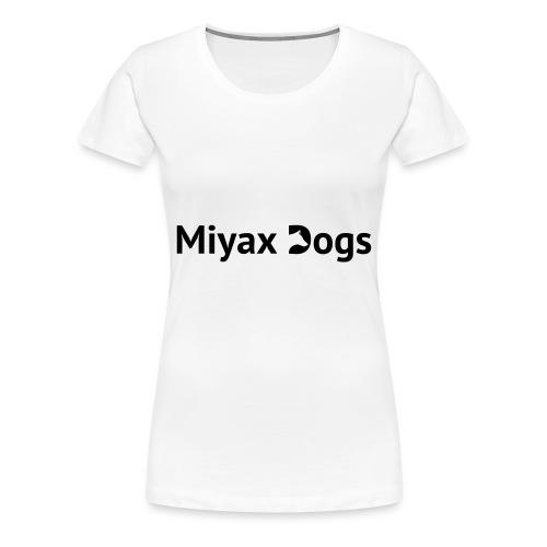 Miyax Logo - Women's Premium T-Shirt
