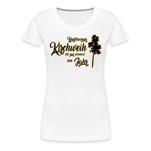 Herlheim Kirchweih - Frauen Premium T-Shirt