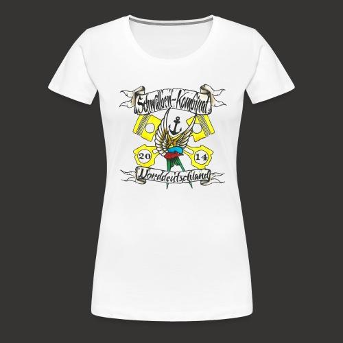 LOGO-SKN14 schwarz - Frauen Premium T-Shirt