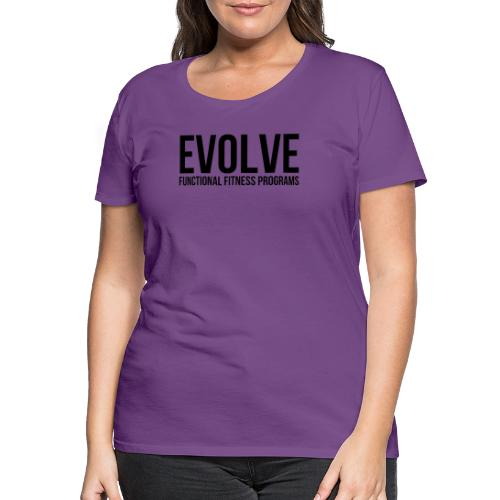 evolve - Premium-T-shirt dam