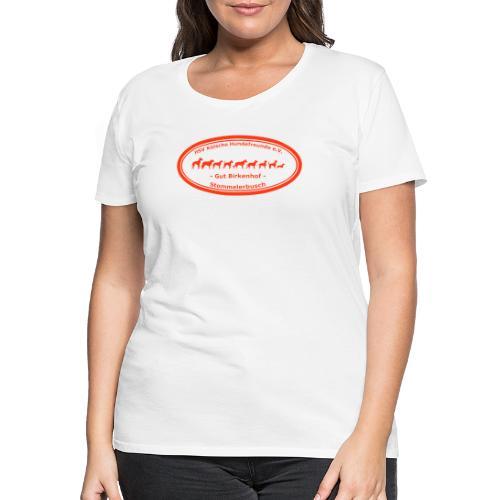 LOGO Kölsche Hundefreunde e.V. - Frauen Premium T-Shirt