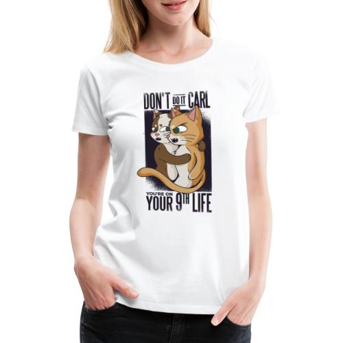 Vexels cat Meme Shirt - Frauen Premium T-Shirt