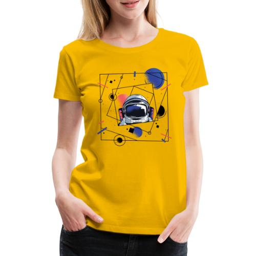Beste Astronaut Weltraum Designs - Frauen Premium T-Shirt