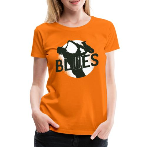 Bestes Blues Design online - Frauen Premium T-Shirt