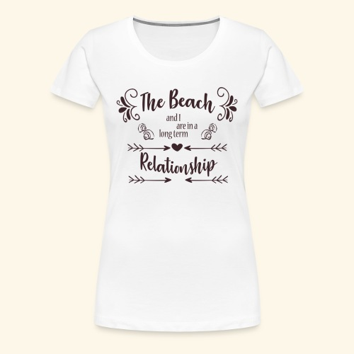Beach Love - Vrouwen Premium T-shirt