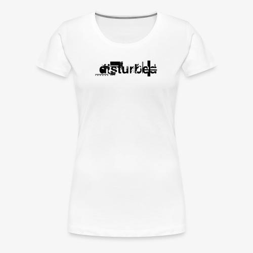 Disturbedx - Vrouwen Premium T-shirt