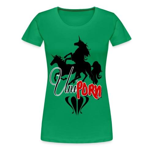 Uniporn - Frauen Premium T-Shirt