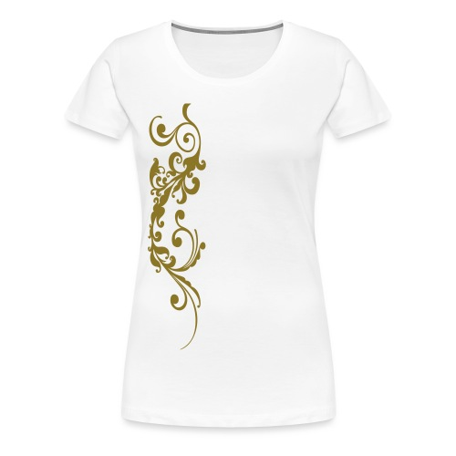 saeulenornament einzelteil - Frauen Premium T-Shirt
