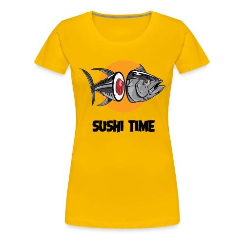 SUSHI TIME-tonno-n - Maglietta Premium da donna