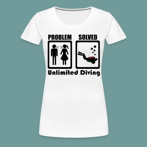 problem - T-shirt Premium Femme
