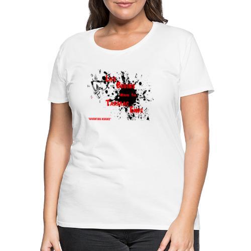 TARMAC ENDS - Premium-T-shirt dam