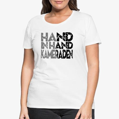 Hand In Hand - Vrouwen Premium T-shirt