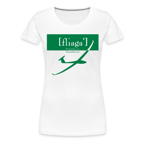 fliaga - Frauen Premium T-Shirt