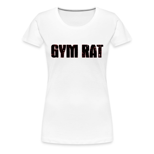 Gymrat - Premium-T-shirt dam