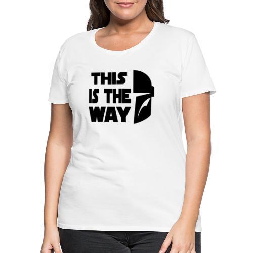 The Mandalorian - Vrouwen Premium T-shirt