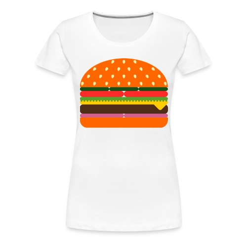 burger 3437618 - Frauen Premium T-Shirt