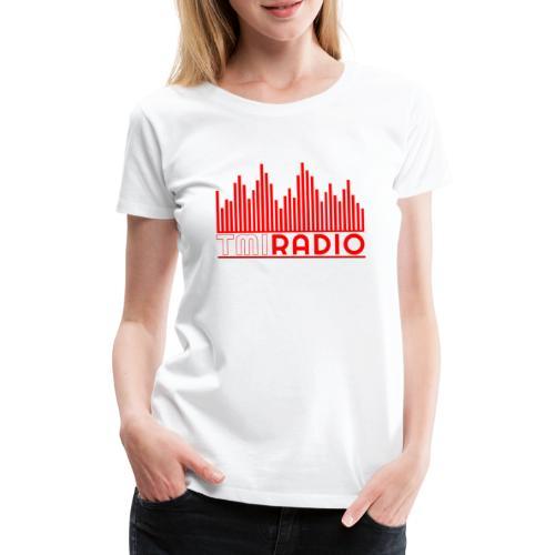 NEW TMI LOGO RED AND WHITE 2000 - Women's Premium T-Shirt