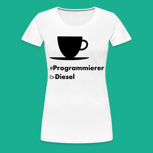 Kaffediesel - Frauen Premium T-Shirt