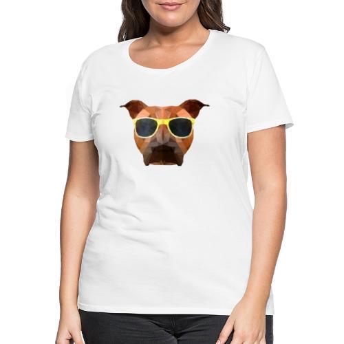 Amy mit Sonnenbrille - Frauen Premium T-Shirt