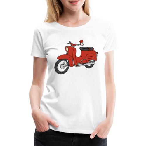 Schwalbe (ibizarot) - Frauen Premium T-Shirt