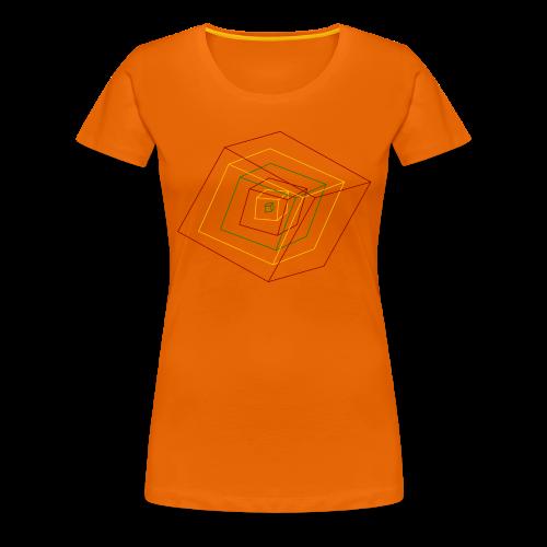 Rasta Cubes - T-shirt Premium Femme