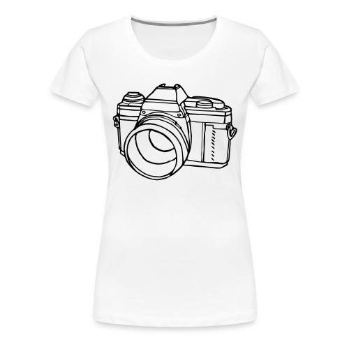 Kamera - Frauen Premium T-Shirt
