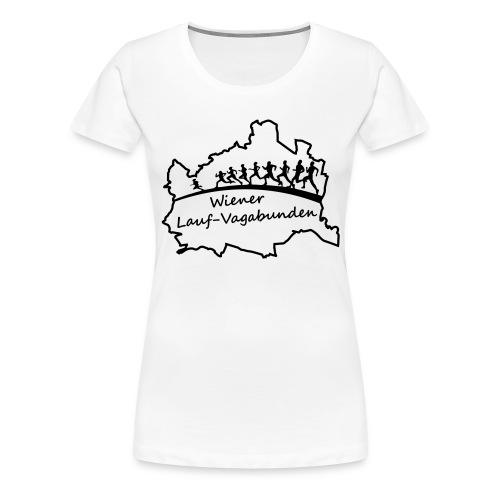 Laufvagabunden T Shirt - Frauen Premium T-Shirt