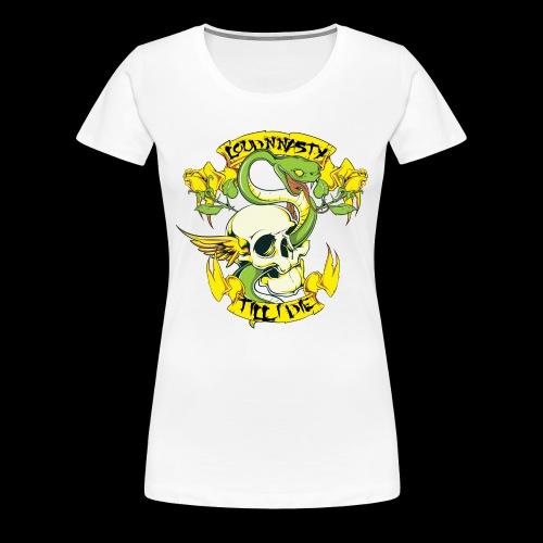 LNN SnakeSkull - Premium-T-shirt dam