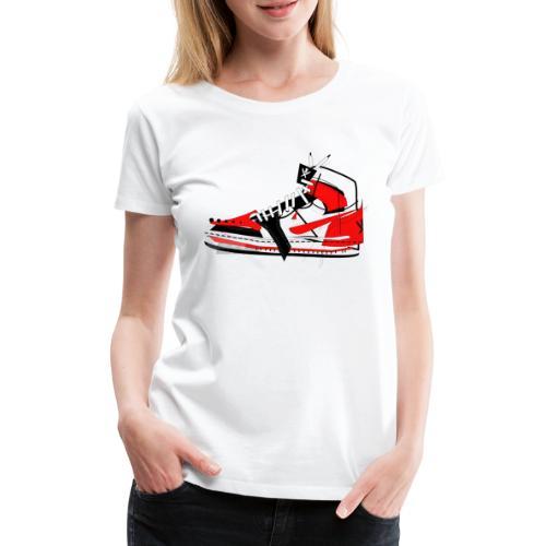 Destrukt my Shoes by MiZAl Touch Concept - T-shirt Premium Femme