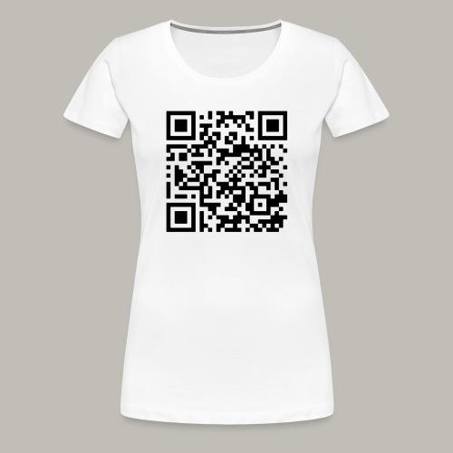 OwlyVky qrcode - T-shirt Premium Femme