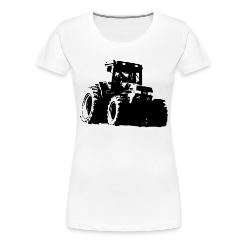 7100 - Dame premium T-shirt