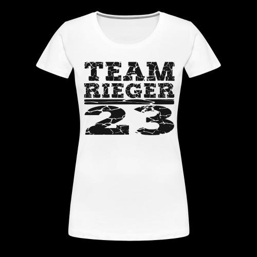 TEAM RIEGER - 23 - Frauen Premium T-Shirt